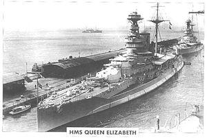 HMS Queen Elizabeth 1913