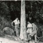 Photograph Near Johore march 1966 Boiling water for picnic