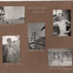 Album Page 1 HMS Smiter 1-3 Nov 1945