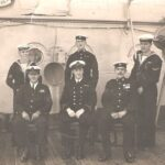 Photograph Group of 6 sailors and RMs