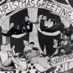 Christmas card HMS Deadalus
