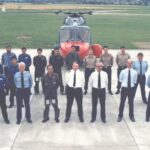 Group Photograph Staff of JSOP and Endurance Flight on completion of flight survey photographic training