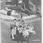 Christmas card Remarks/People  Involve.  Culdrose.  Includes Nobby Clark, Bob Pearce, Mike Gilbert, F Brown, + + ?