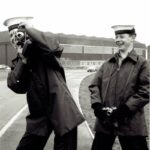 Photograph Mic Brailey and Steve Dargan when on course   Ship/Place/Originator  Lossiemouth.