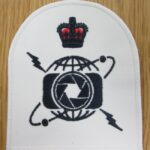 , Photograph New Photographers badge on the formation of the branch as part of the General Service Warfare organisation  with effect from 26th January 2017