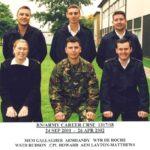 Photograph Course 1317 No 18 Back.    MEM Gallagher D J  LA  Handy M J, WTR De Roche K   Font.   WSTD Hudson E S   AEM Layton-Matthews J C