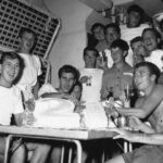 """Photograph. A  """"Youthfull"""" Tony Darbyshire's (on Left) 21st birthday party in 2