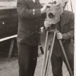 Photograph Instructing on Newman Sinclair