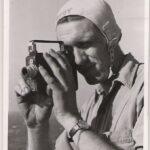 Photograph Filming Landons with Kodak Magazine camera
