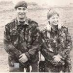 Photograph Julie Wynn with a Marine