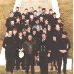 Photograph Group of FPU Staff on steps