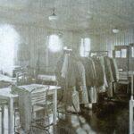 Photograph Mess deck at RNSOP Ford