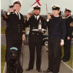 Photograph Pete Grigsby's farewell from Cosford
