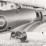 Photograph Phot Loading F24 in Sea Fury