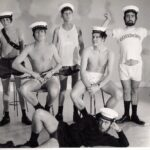 Photograph Six male phots in underclothes in studio