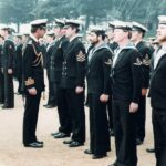 Photograph Prince Charles talking to Phots on Divisions