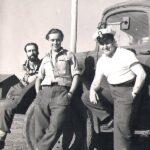 PO Frank Bulger plus two phots with Mobile Phot Unit