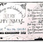 Christmas Card HMS Cumberland