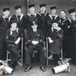 Photograph Group Photo Section HMS Landrail 1944