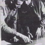 Photograph Lt Kliever & Lt Grosse