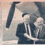 Photograph Arthur Keep reunited with an Albacore at FAAM
