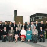 Photograph Group of Phot Os and Ex Phots at Tipner after reunion visit