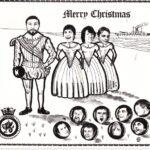 Christmas Card Includes .Brian Hayward, Topsy Turner, Wally Beards, Tiz Brenon, Tracy Teasdale,